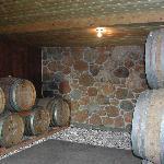 Wine Barrels in the small cellar
