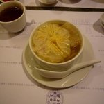 スープ。これ凄く美味しかった。