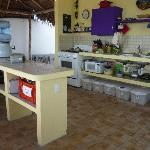 the breezy roof top kitchen