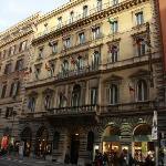 Outside fasade of the Artemide Hotel