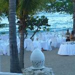 Candlelight dinner at Blue Lagoon restaurant
