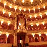 palcos del teatro
