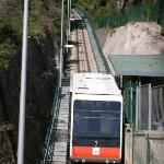 Funicular back to the centre of town