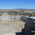 Top view from the pyramid