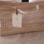 Beach bag for your use in room at Casa Velas