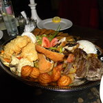 Assorted roasts for two people