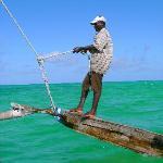 Segeln auf dem Auslegerboot