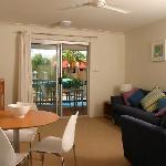 Living area - 1 & 2 Bedroom apartments