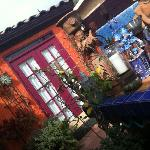Casita from the courtyard