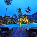 Pool Area at night...