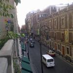 balcony & street