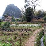Yulong River walk takes you through Farmland