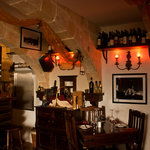The Wine Bar area