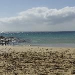 Playa Papagayo vista dalla spiaggia