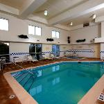 Enjoy swimming year-round in our indoor pool or kick back and relax in the whirlpool.