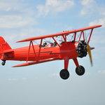 Airborne in a biplane!