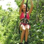Zip lines in the Jungle