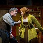 "Jeff McCarthy and Harriet Harris in ""Sweeney Todd"" (Photo by Kevin Sprague, 2010)"