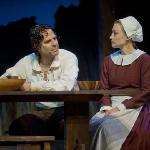 "Christopher Innvar and Kim Stauffer in ""The Crucible"" (Photo by Kevin Sprague, 2010)"