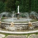 the fountain in the Tea Garden