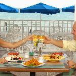 Gulf Front Dining in Mangos Restaurant