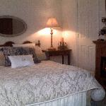 Luxuriously appointed Ada's Queen Suite