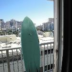 BOARD W/ VIEW FROM ROOM!