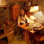 interno della casa di Pippi