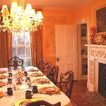 Dine in Elegance in their Elaborate Dining Room!