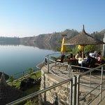 Lake Side Dining Babogaya Resort
