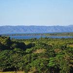 The amazing view of Samana Bay