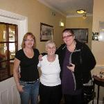 Rosemary(the owner), Linda (helper) and me (Dawn)
