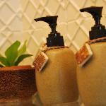 Great custom soapy things in the bathroom