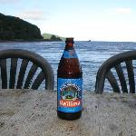 Vailima Special Import and your view in the background