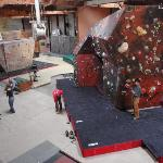 our storefront @ Far North Climbing Gym