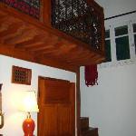 Une chambre en mezzanine