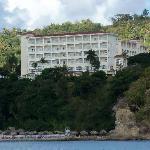 Hotel vue d'un bateau