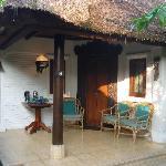 Cottage 16 entrance