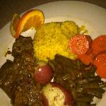 Spicy lamb