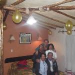 Celebrando el cumple de mi mami en el Kunturwassi Colca!!!