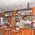 Juba Bridge Hotel: Bar Area