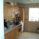 Nice kitchen, pity about the gas