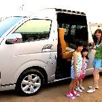 Our comfy aircon van