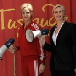Sue Sylvester at Madame Tussauds Hollywood