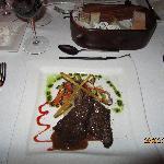 Un excellent steak qui se coupe avec un couteau à beurre