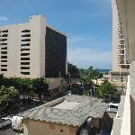 View of Waikiki from Rm 601 Waikiki Prince Hotel