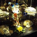 7.-Hotel Russot Venecia:  bellas máscaras