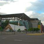 The stadium looms!