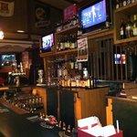 The Claridge Clubhouse bar