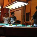 Always someone willing to beat you at pool